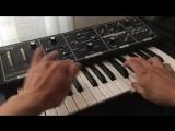 Lead sound on Moog Rogue