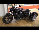 2018 Indian Scout Triax Trike by Trans Moto Walkaround 2018 Montreal Motorcycle Show