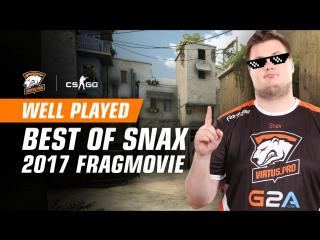 WELL PLAYED   Snax 2017 CS:GO Fragmovie