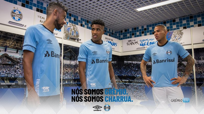 Charrua: O Novo Manto Tricolor l GrêmioTV