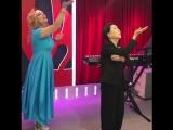 Ямада Мидори учит Аллу Довлатову японским танцам! Светка, давай!