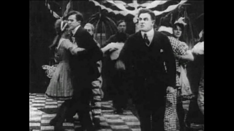 Чарли Чаплин: Танго-Путаница 6 серия 1914 г.
