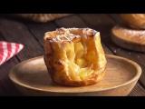 Яблочный Штрудель в рулетиках! Знаменитый рецепт в новой удобной форме.