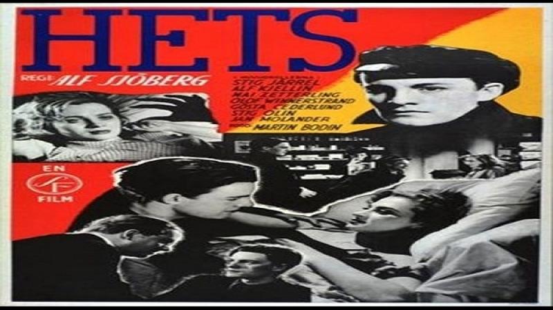 1944 Ingmar Bergman -Hets (SUB ita) Stig Järrel, Alf Kjellin, Mai Zetterling