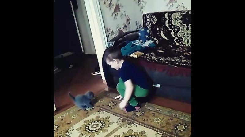 Первая встреча ✨😊😍Хорошая бабушка знает о чем мечтает ребенок 😘😘😘