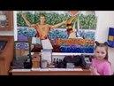 Крым. Евпатория. достопримечательности города. Гезлевские ворота. Аптека и почта музей. Синагога