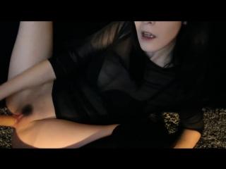 Ivy Aura - Camgirl Slut Fucks Her Pussy (720p) [Amateur, Petite Teen, Solo, Masturbation, Dildo]