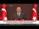 Bekir Bozdağ, Bakanlar Kurulu sonrası basın toplantısı düzenledi (14 Mayıs 2018)
