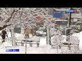 Москву испытает на прочность похолодание и новый снегопад!