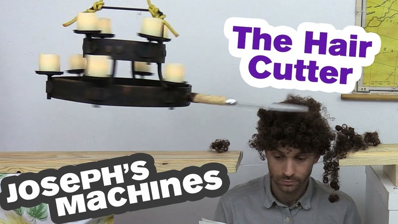 Terrifying Automatic Hair Cutter | Most Dangerous Machine Yet | Life Device 6 | Josephs Machines