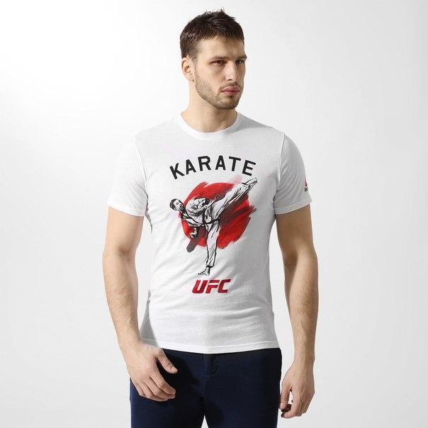 ФутболкаReebok UFC Karate