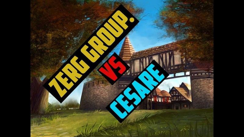 [ GvG ] zerg group. vs cesare ( KetraWars x1200 )