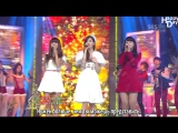 Suzy (Miss A) &amp Seohyun (SNSD) &amp Hyorin (Hyolyn) (SISTAR)  All I Want For Christmas Is You X Last Christmas (рус.саб)
