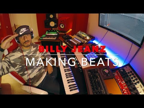 Billy Jeanz Making a ☆Stranger Things Type Beat☆ with Maschine Mk3 and Komplete Kontrol S61 Mk2