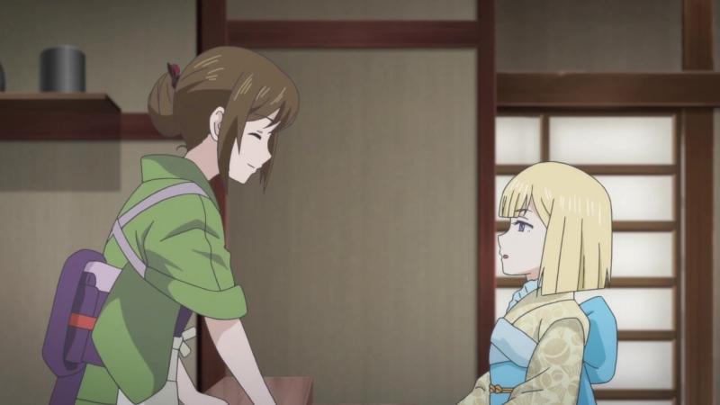 AniDub 07 серия Чем кормят в ином мире Kakuriyo no Yadomeshi Jade Bars MacAdams Ket