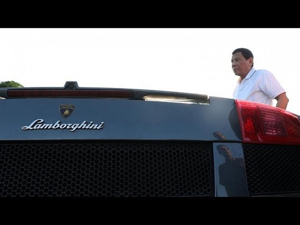 Watch: Philippines' Duterte oversees smuggled luxury cars being destroyed