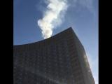 Пожар в гостинице «Космос»