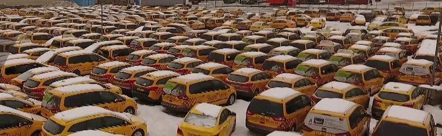 В Москве нашли кладбище такси