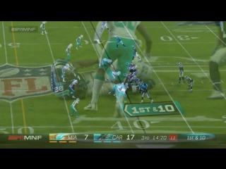 Jonathan Stewarts 110-Yard Game vs. Miami! _ Dolphins vs. Panthers _ Wk 10 Player Highlights