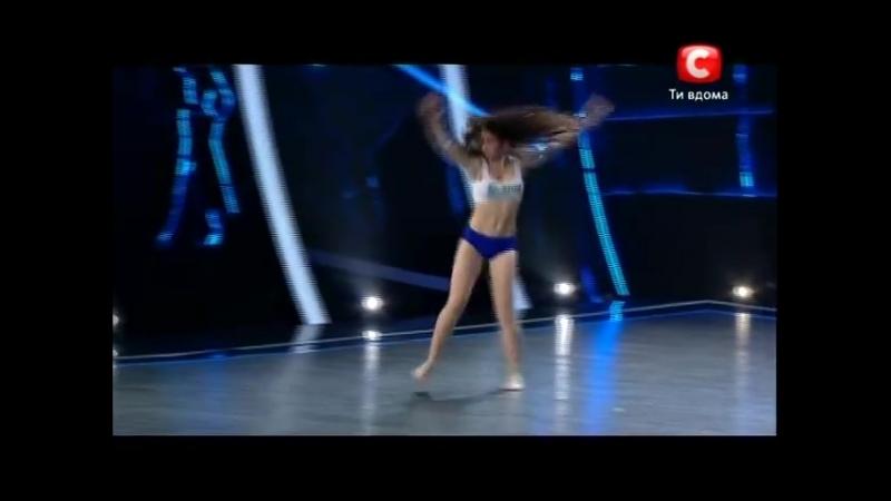 Настя Колесниченко Танцуют Все 5 Донецк 21 09 2012