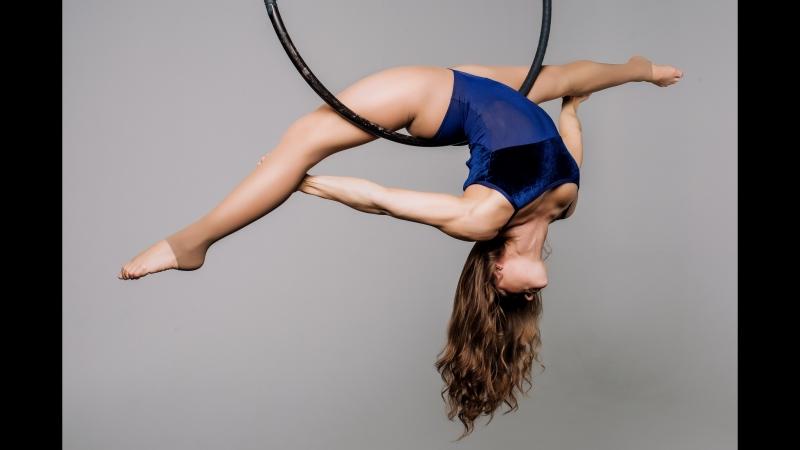 Воздушная гимнастика в Escada ART || Александра Нозик