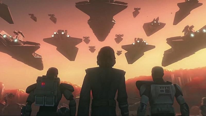 Трейлер седьмого сезона мультсериала Звездные войны Войны клонов