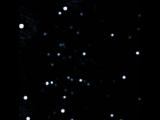 Орбитальное вращение звезд вокруг сверхмассивной черной дыры в самом центре Млечного Пути