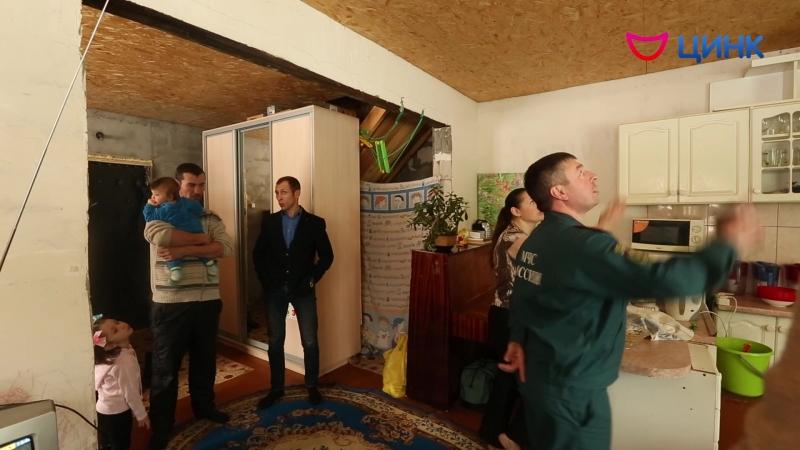 Специалисты МКУ «Светоч» установили пожарный извещатель в доме многодетной семьи