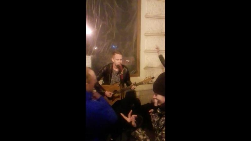 Уличные музыканты во Львове.RockOns