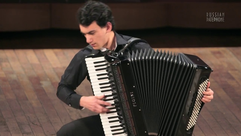 KUSYAKOV Sonata № 2 (final) - Artem Malkhashyan, accordion КУСЯКОВ Соната №2 - Артём Малхасьян