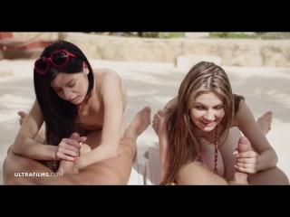 Timea Bella, Daniella Rose (Easy To Fuck)[2018, All Sex, Blowjobs, Foursome, 1080p]
