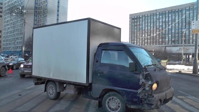 ДТП с участием фургона