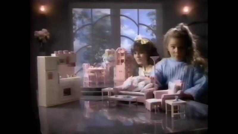 Mattel 1990 Sweet roses Barbie furnitures