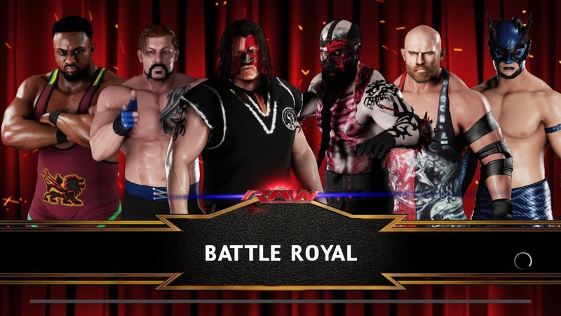 SBW Raw - [Pretender's 6-man Battle Royal match]