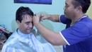 O Ninja do Cabelo Corte de cabelo Masculino LISO Cabelo Grosso