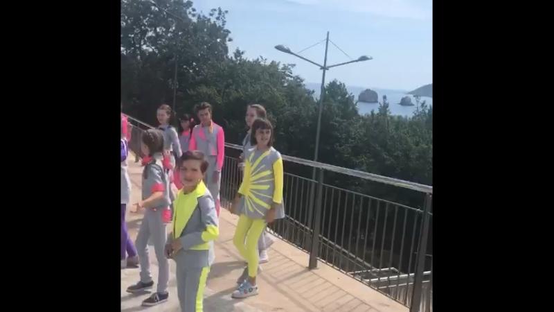 С'емки видеоклипа в Артеке - лето 2018
