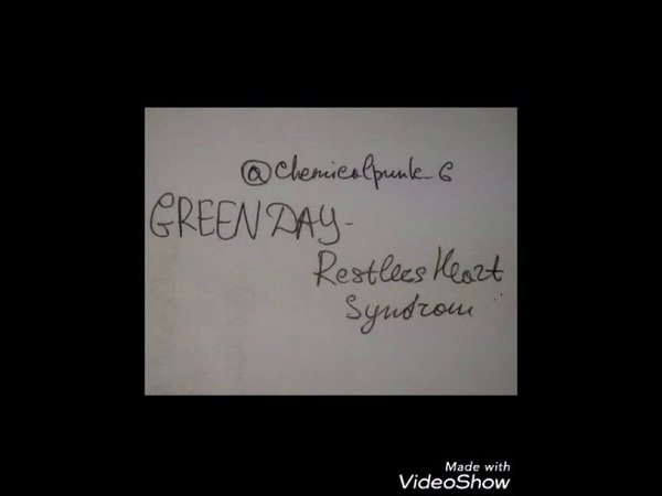 Green Day - Restless Heart Syndrom(cover)