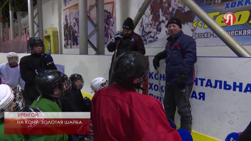 Уренгойские хоккеисты готовятся к «Золотой шайбе»