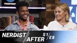 Olivia Holt &amp Aubrey Joseph's Favorite Set Memories - Nerdist After Marvels Cloak &amp Dagger S1E8