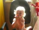Солнечный ребенок Эвелина и сладкий арбуз.