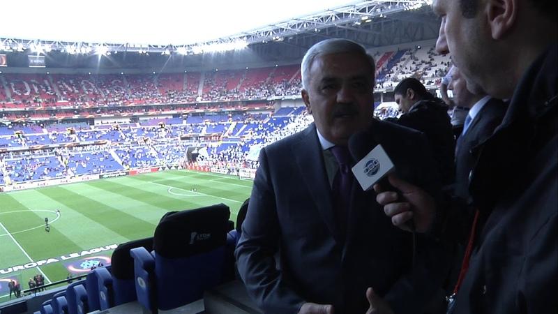 Final oyununun ilk simvolik bileti AFFA prezidentinə təqdim olunub