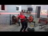 Иван Макаров (Грузия), ось - 160 кг на 3 раза (полным циклом), подготовка к турниру памяти Ирины Ширяевой ?