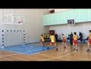 53 ОСШ зональные соревнования по баскетболу 7-8 классы. Эстафета.