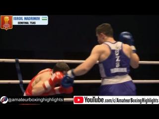 Узбекский Тайсон Мадримов (75кг) - ТКО!!! в полуфинале Кубка Питера 2017