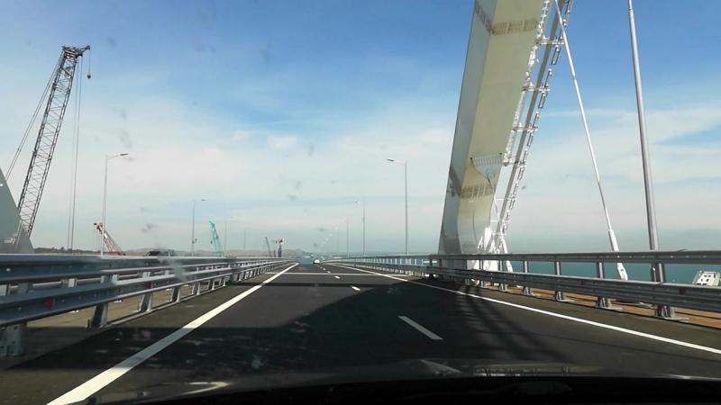 В Крым по мосту