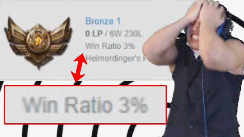 YASSUO Found INTeresting Bronze Player with 3% WINRATE TYLER1 LoL Best Stream Moments 59