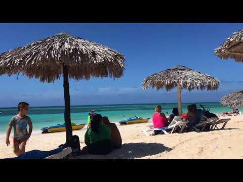 Playa Guardalavaca. Пляж Гуардалавака