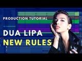 How to Produce Dua Lipa - New Rules Beat Academy