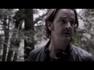 Смерть Гавриила - Сэм бросает Люцифера в мире Апокалипсиса - Сверхъестественное 13 сезон 22 серия