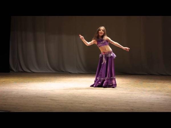 Восточные танцы. Конкурс - Импровизация. Эльмира Ибрагимова.